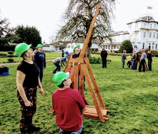 Build A Trebuchet: A Team Building Challenge in Carlisle, Cumbria
