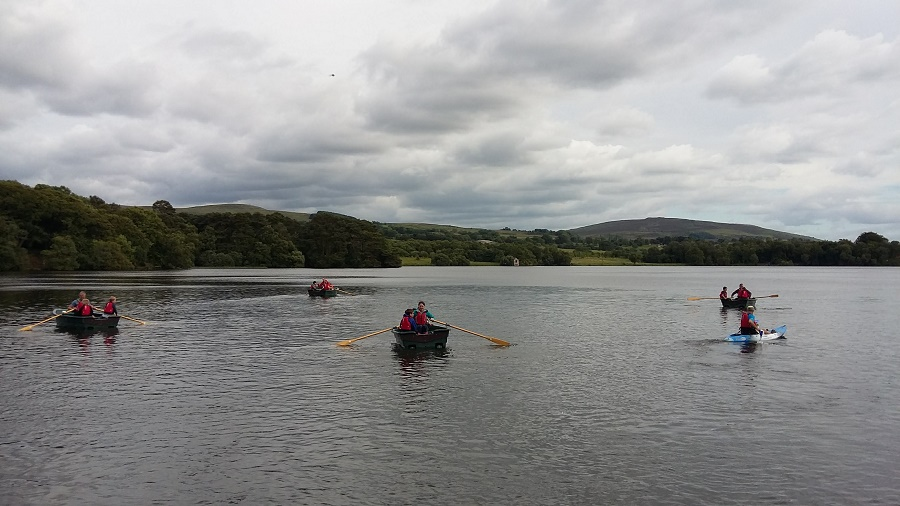 Boats at Talkin Tarn, Cumbria
