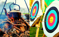 Winter Archery & Camp Fire Experience