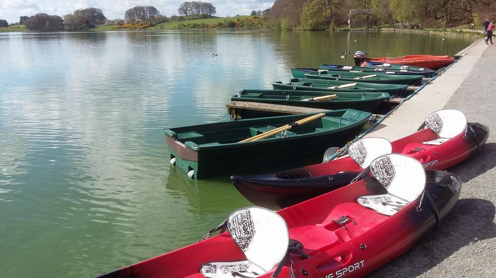 Boat Hire at Talkin Tarn