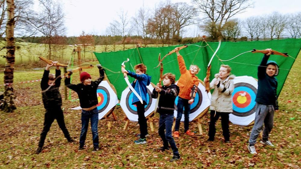Archery at Talkin Tarn