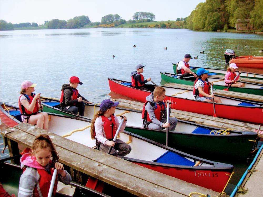 School Canoeing Trip