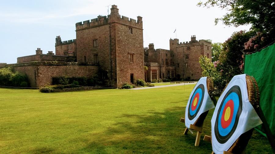 Archery at Muncaster Castle