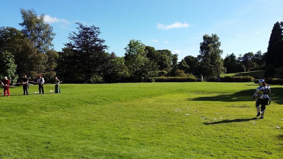 Archery history at Muncaster Castle