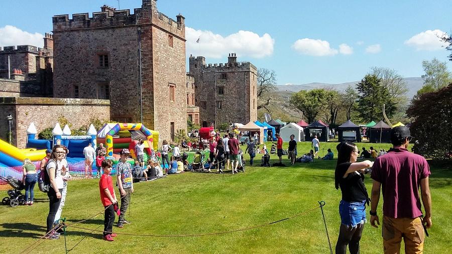 Festival events at Muncaster Castle