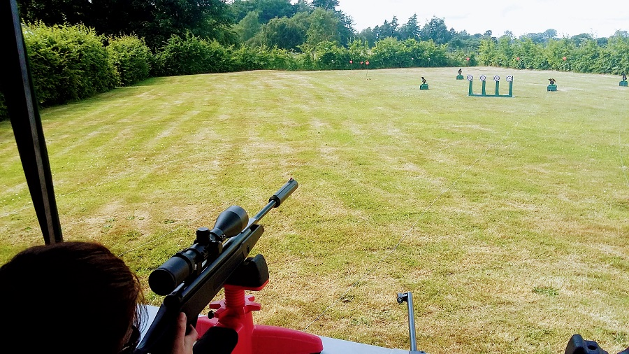 Air Rifle Shooting at Kirklinton Hall